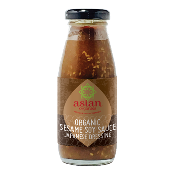 Product Shot Asian Organics Organic Sesame Soy Sauce Japanese Dressing