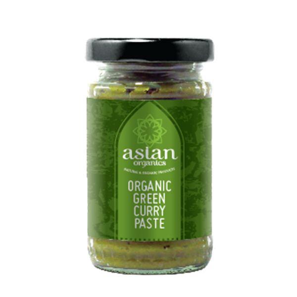 Product Shot Organic Green Curry Paste