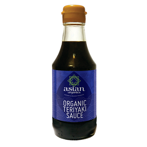 Product Shot Organic Teriyaki Sauce
