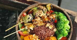 Organic Meal with Organic Brown Rice