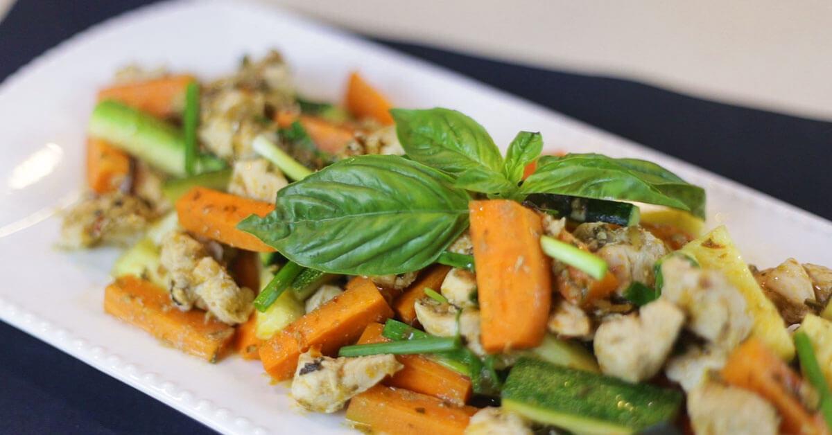 Holy Basil Dish