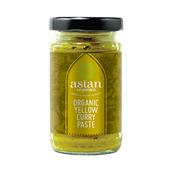 Organic Yellow Curry Paste
