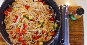 Spicy Primavera Pasta