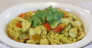 Turmeric Curry Pasta
