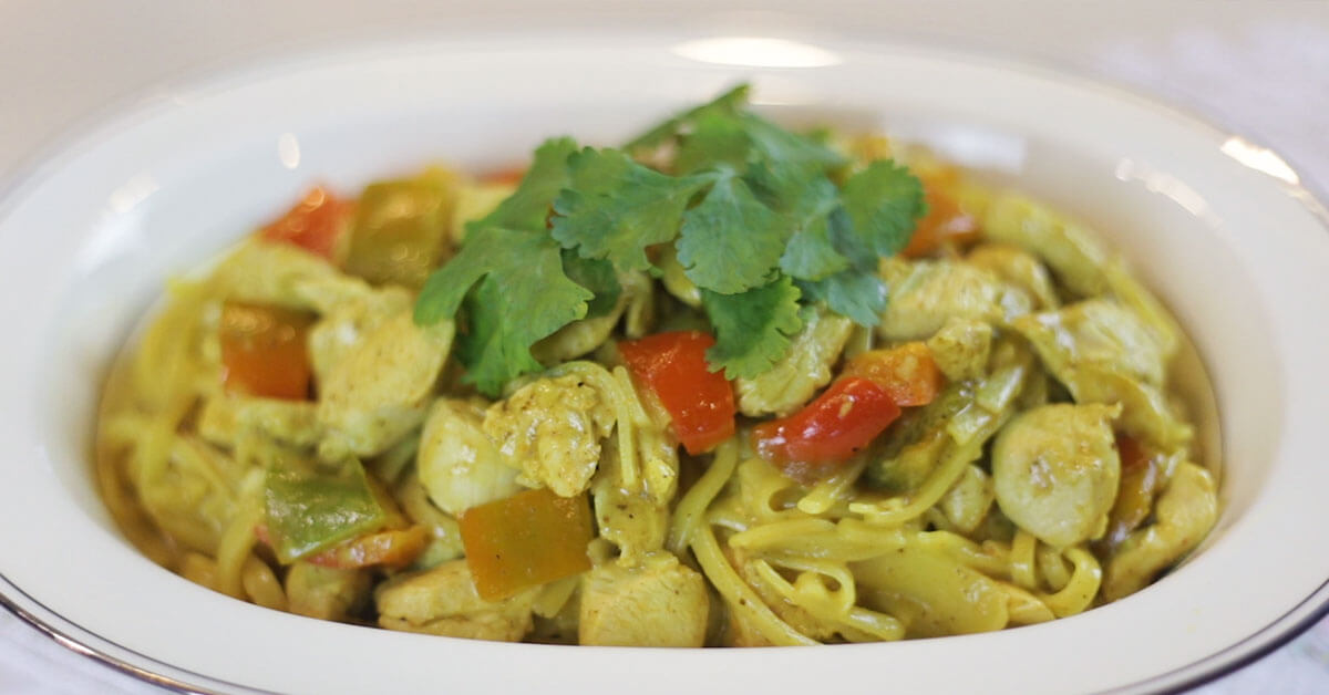 Turmeric Curry Pasta